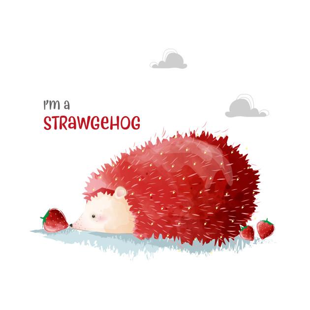 Hedgehog strawberry strawgehog