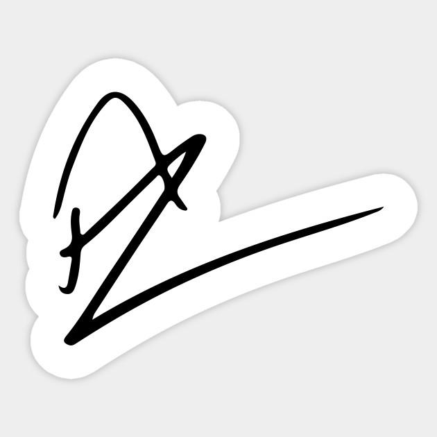 Rafael Nadal S Signature Rafael Nadal Adesivo Teepublic It