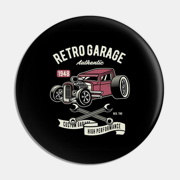 Retro Garage Hotrod
