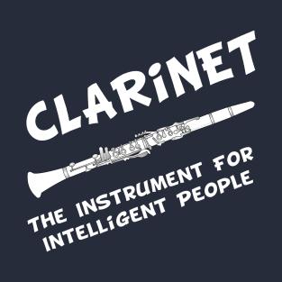 Intelligent Clarinet White Text