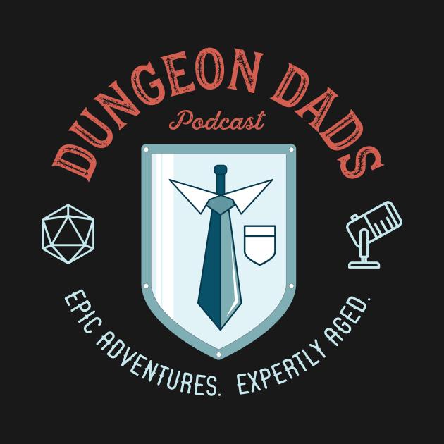 Dungeon Dads Logo (dark)