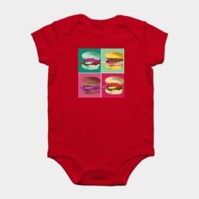 04ac165a0 Burgers Onesies | TeePublic