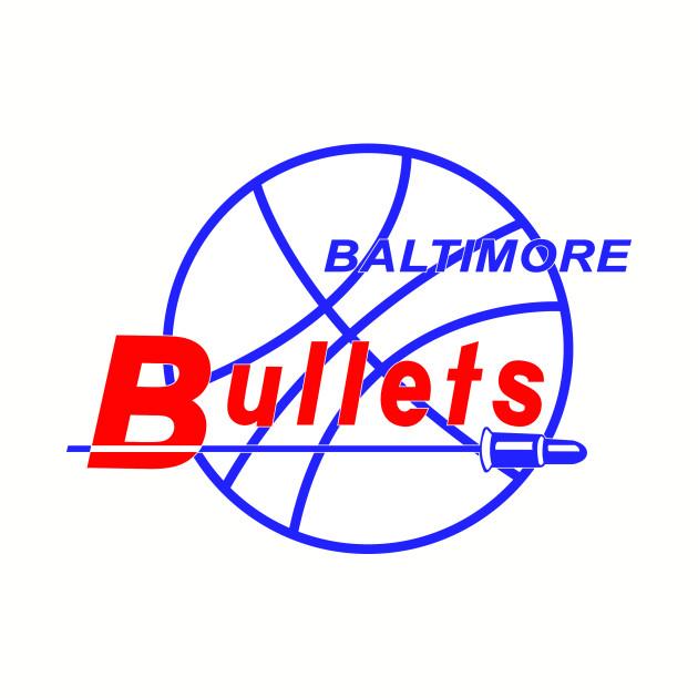 defunct - baltimore bullets - baltimore - t-shirt | teepublic