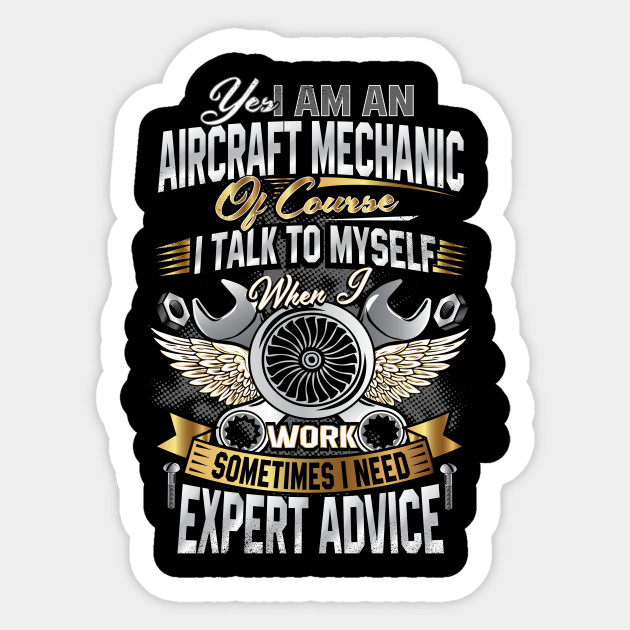 I 39 m an aircraft mechanic t shirt funny quote aviation for Mechanic shirts with logo