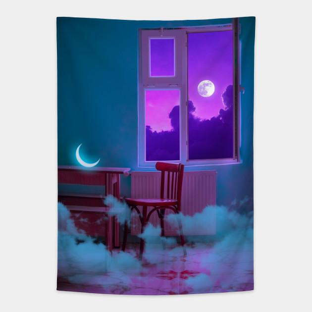Sweet Home Aesthetic Tapestry Teepublic