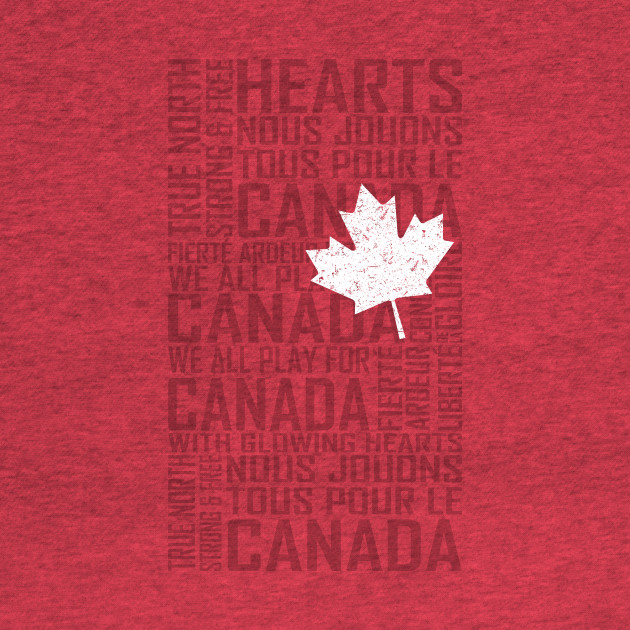 We All Play for Canada (Red)