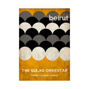 Beirut World Tour t-shirts