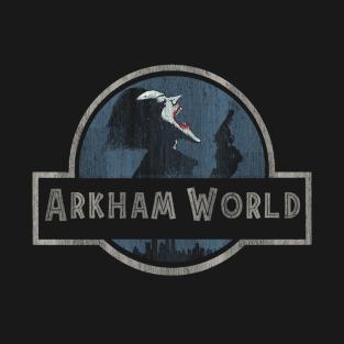 Arkham World t-shirts
