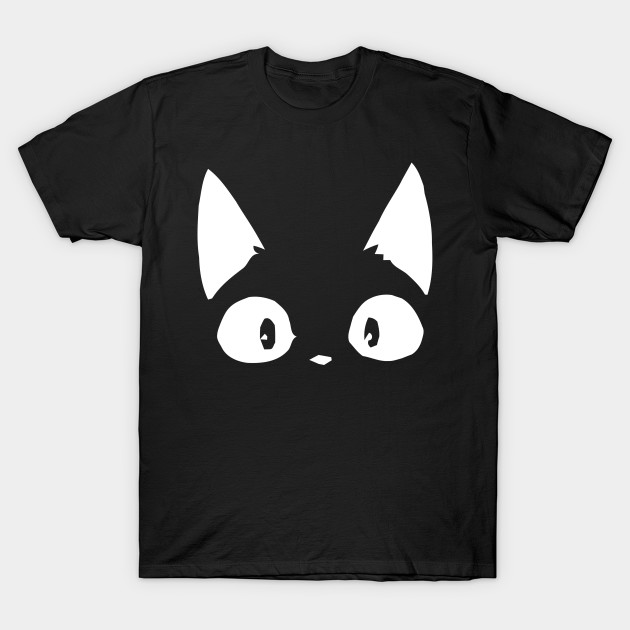 Jiji Kiki S Delivery Service Cat T Shirt Anime Totoro Dragon Ball Cowboy Bebop No Face Calcifer Kuroko Kikis Delivery Service T Shirt Teepublic