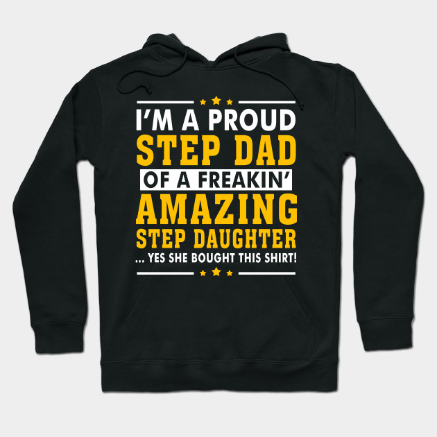 Funny Step Dad Shirt Quotes Gift Step Daughter Stepdad