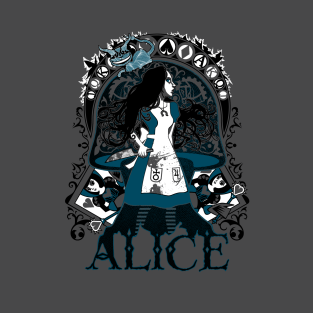 The Madness of Alice t-shirts