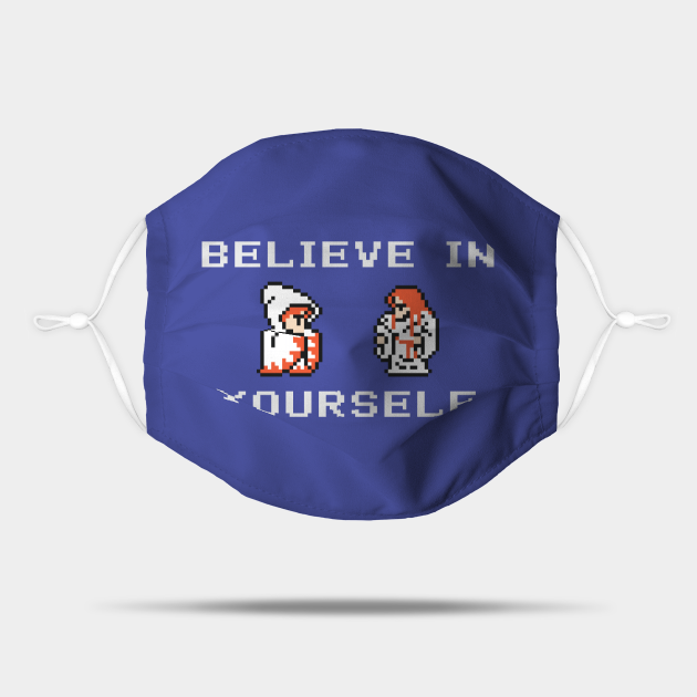 Believe In Yourself Original White Mage White Wizard Version