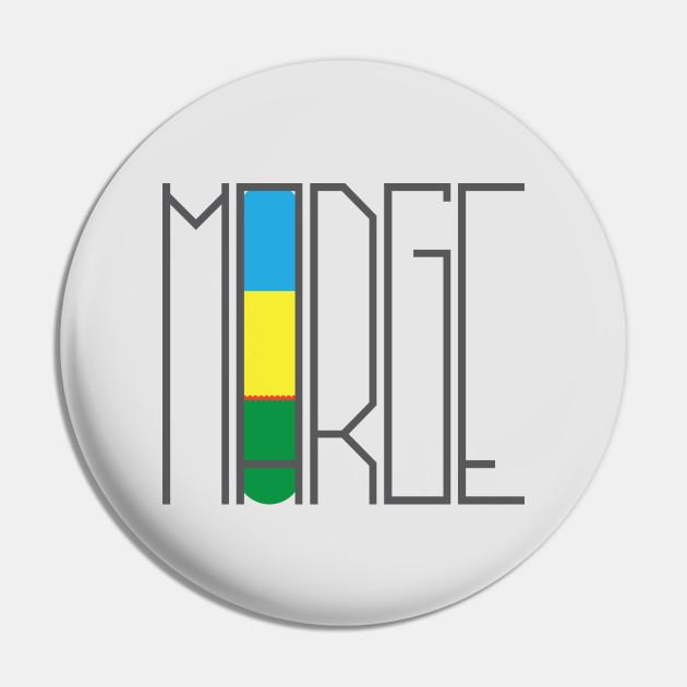 Minimalist Marge Simpson