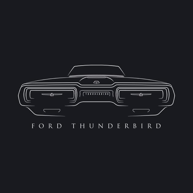 1964 Ford Thunderbird - Stencil