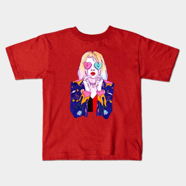 Birds Of Prey Harley Quinn Candy Kiss Birds Of Prey Harley Quinn Kids T Shirt Teepublic