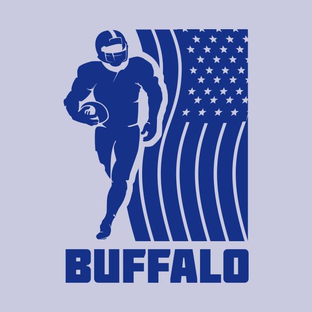 NFL Buffalo Bills Football Team Color