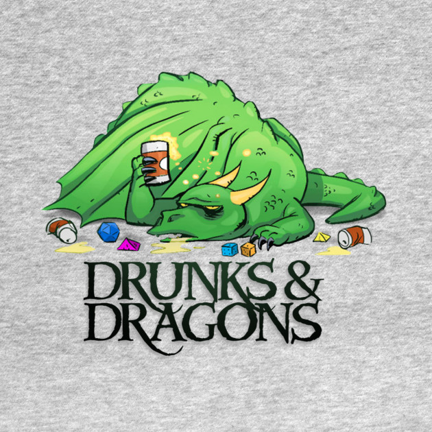 OG Drunk Dragon Logo