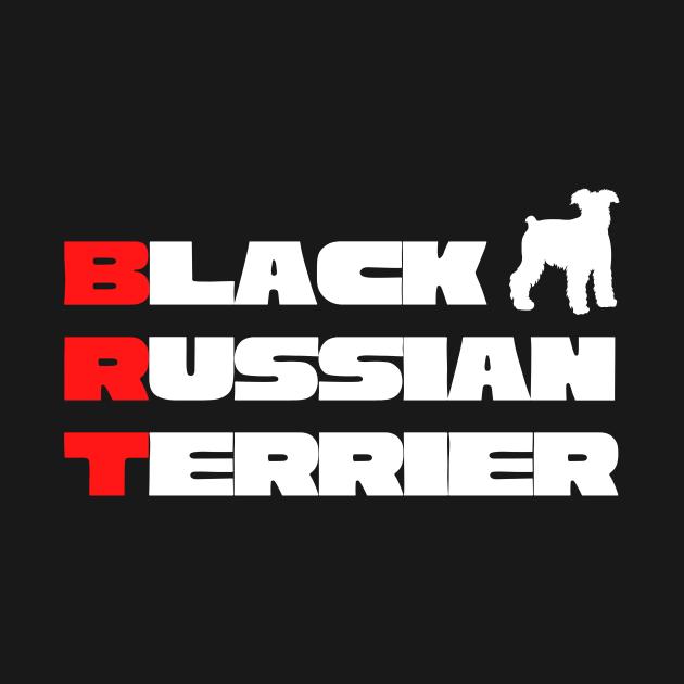 Black Russian Terrier Design