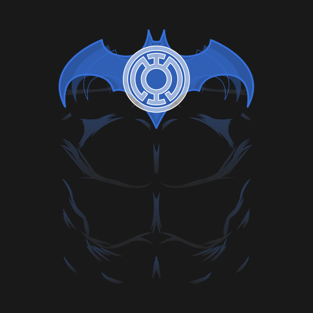 Blue Lantern Batman Batman T Shirt Teepublic