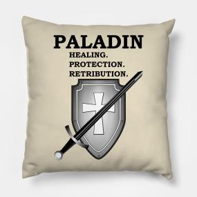 Paladin Dnd 5e Pillows   TeePublic