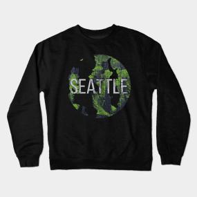 5b45c1ce9 Seattle Crewneck Sweatshirts | TeePublic