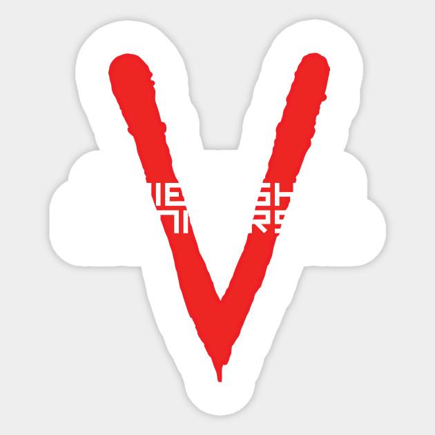 V Friendship Is Universal Friendship Is Universa Sticker