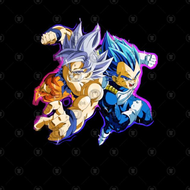 Goku and Vegeta Teaming Up