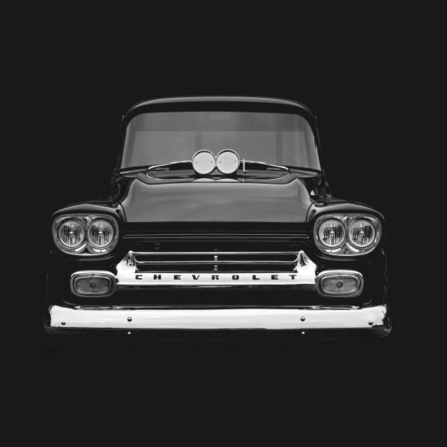 apache 160 coloring pages | 1958 Chevy Apache Pickup - Apache - T-Shirt | TeePublic
