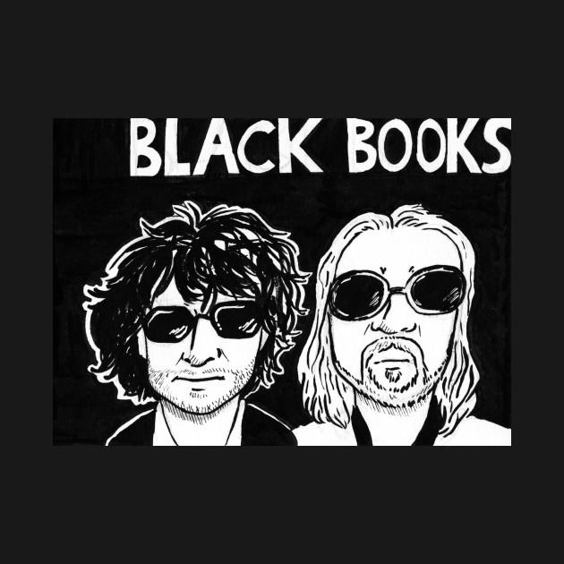 Black Books Bernard and Manny