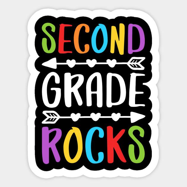 Second Grade Rocks T-Shirt 2nd Grade Back To School Gift - Second ...