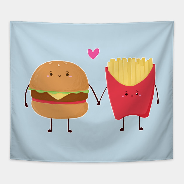 Burger and Fries love