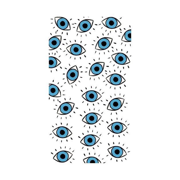 Evil Eye protection pattern