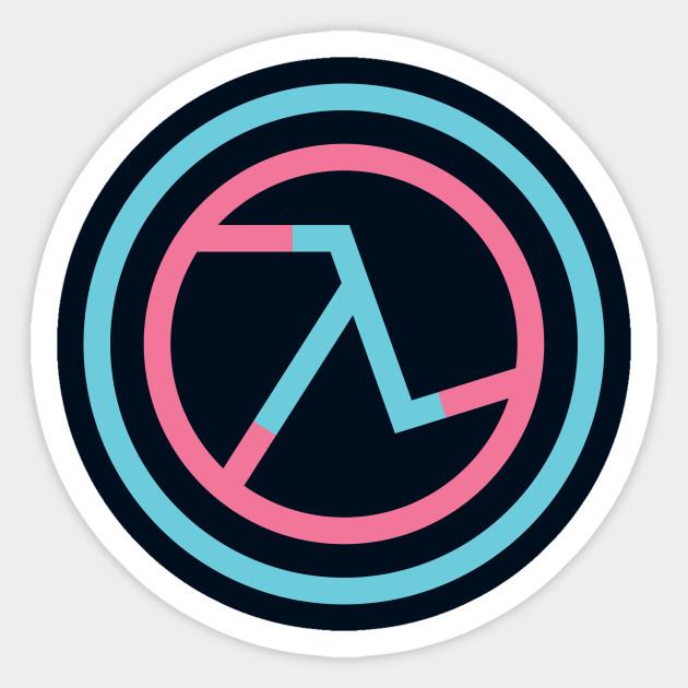 Half Life Lambda Symbol Half Life Sticker Teepublic