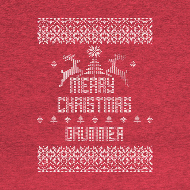 Merry Christmas Drummer