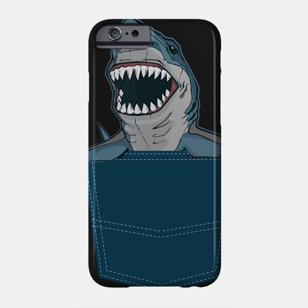 dd97f84c7 Funny Pocket Shark Design Shark Lover Gift - Shark - Phone Case ...