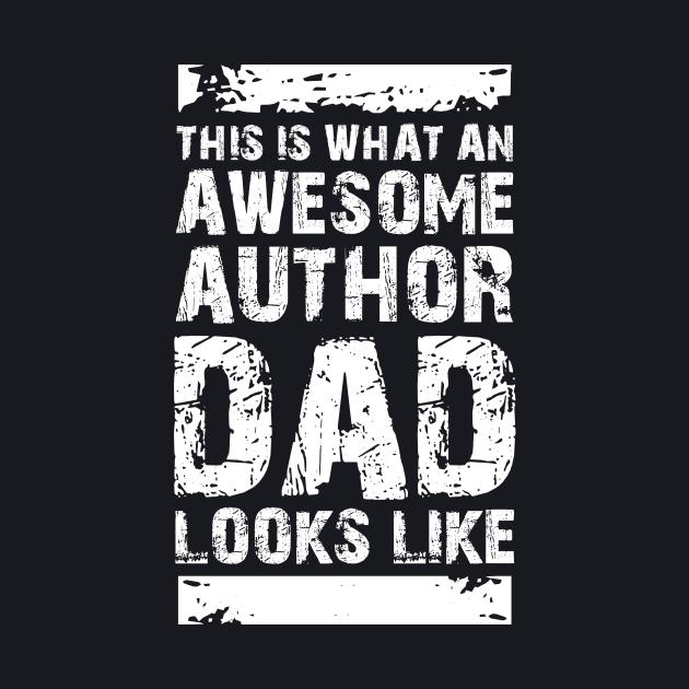 Author Dad Typography Quote Design