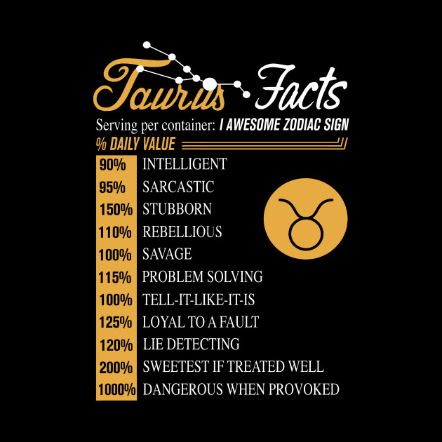 horoscope facts taurus