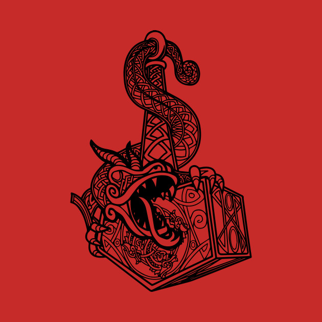 norse mjolnir dragon norse t shirt teepublic. Black Bedroom Furniture Sets. Home Design Ideas