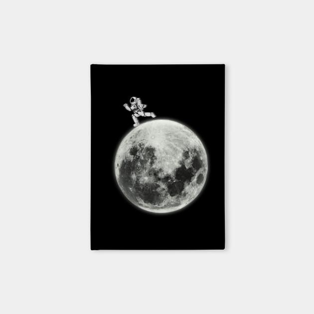 Astronaut Moon Space Walk