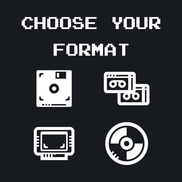 Gaming: Choose Your Format Old-School Storage Devices