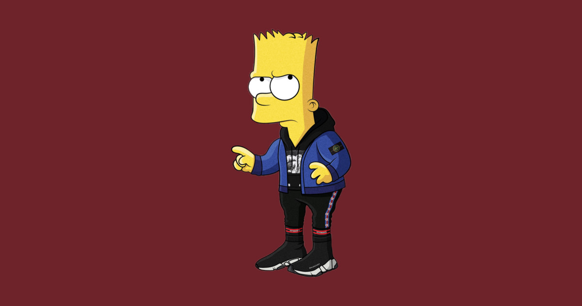Hypebeast bart simpson - Hypebeast Bart Simpson