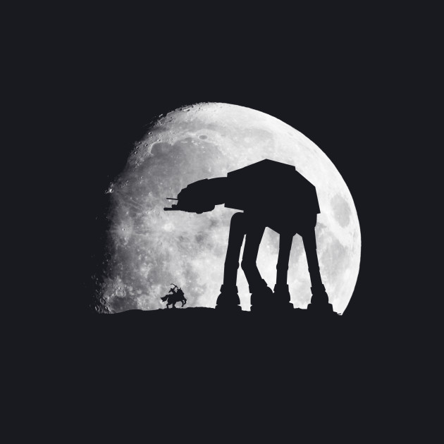The shadow of the Walker(AT-AT)