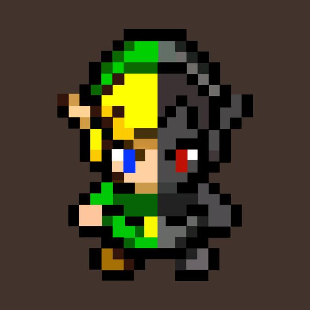 Link vs Dark Link 8-Bits