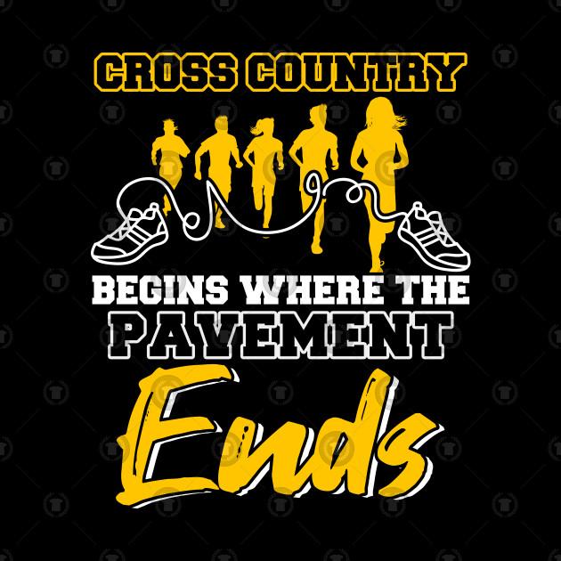 Cross Country Runner Running Sport Gift