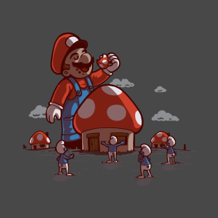 Mushroom eater t-shirts