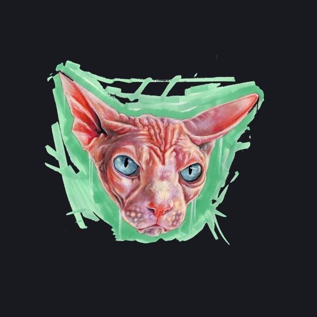 T shirt, cat sweeeeeeet cat