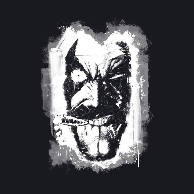 Lobo (w/ Grunge Background)