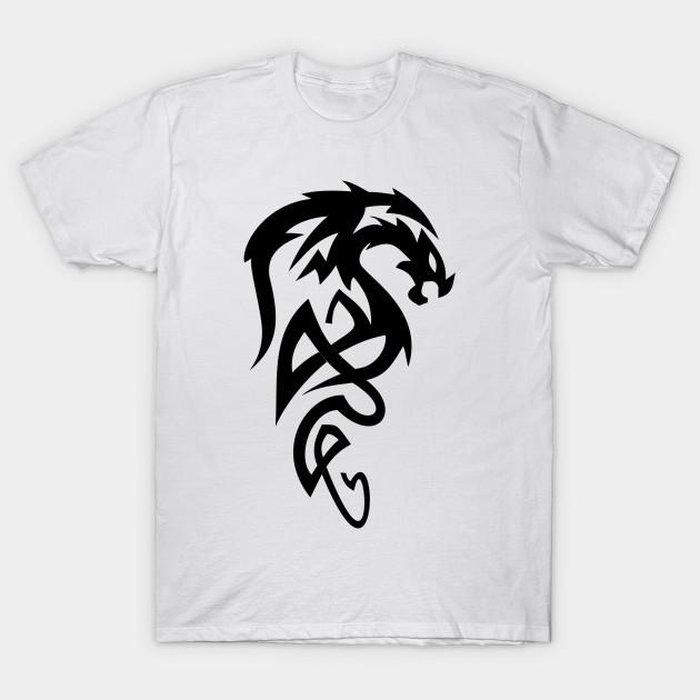 ffab17c8 Black Dragon - Dragons - T-Shirt | TeePublic