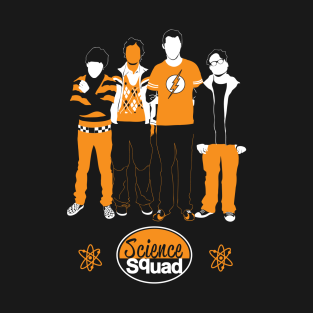 Science Squad t-shirts