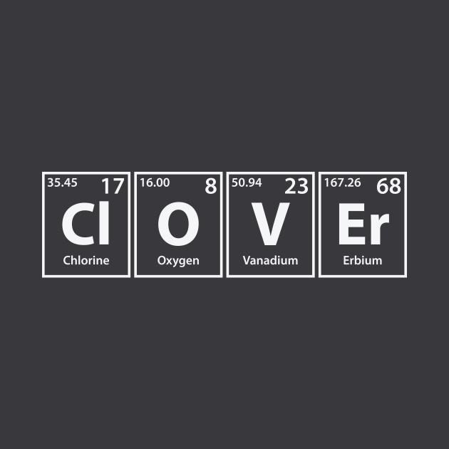 Clover (Cl-O-V-Er) Periodic Elements Spelling
